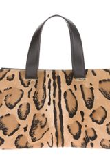 Giorgio Armani Stained Leopard Print Handbag - Lyst