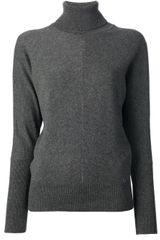 Gucci Knitted Roll Neck Sweater - Lyst