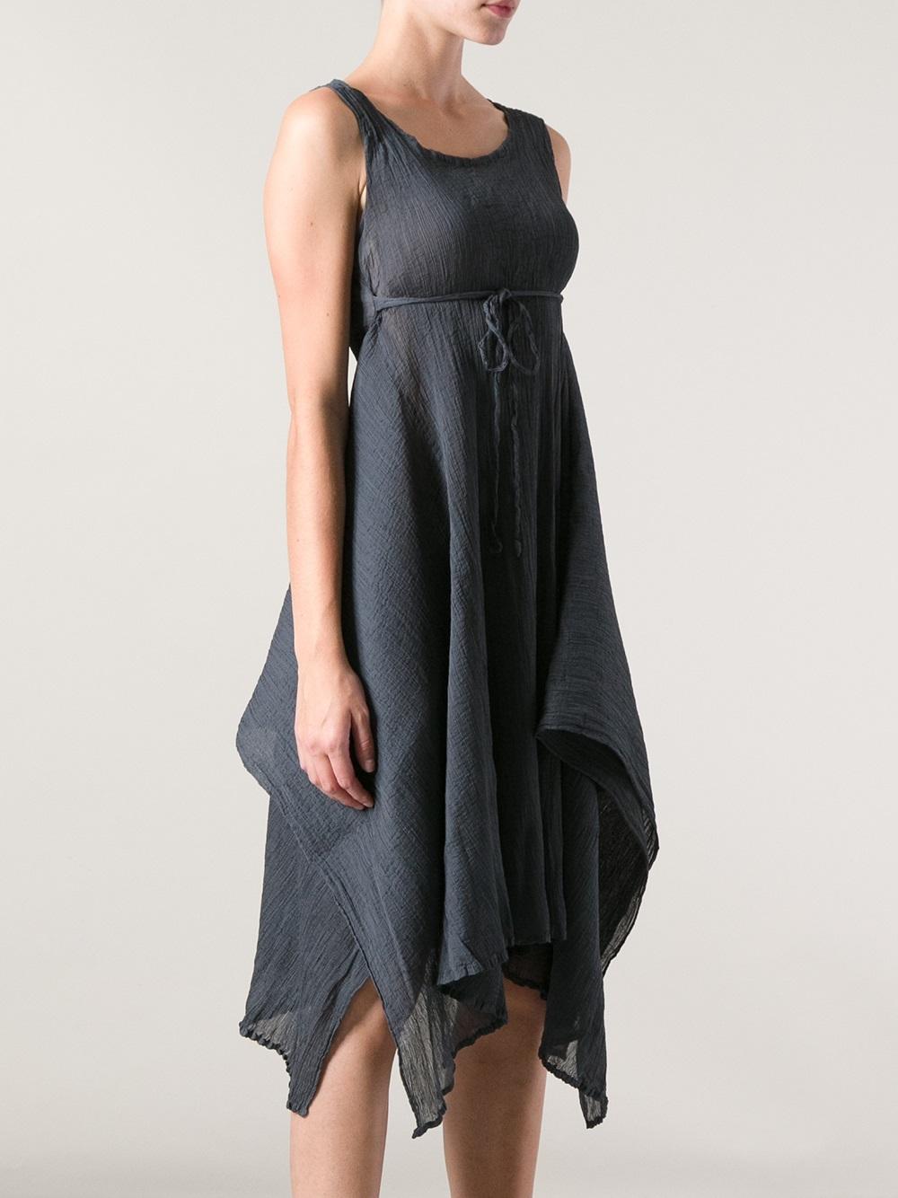 Lyst Issey Miyake Cauliflower Sleeveless Dress In Gray