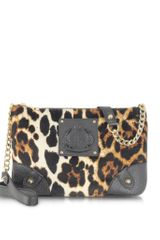 Juicy Couture Animal Printed Velour Crossbody - Lyst
