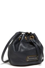 Marc By Marc Jacobs Too Hot To Handle Mini Leather Drawstring Crossbody Bag - Lyst