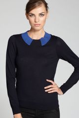 Marc By Marc Jacobs Sweater Dorothy Collar - Lyst