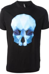 Neil Barrett Printed T-shirt - Lyst