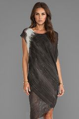 Nicholas K Liberty Dress in Charcoal - Lyst