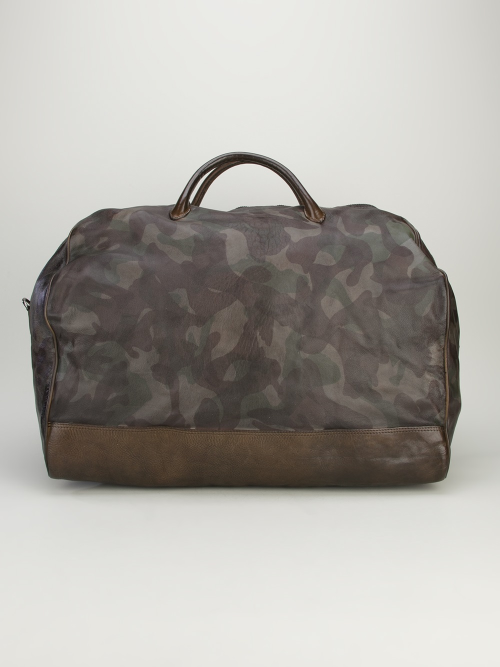 Lyst Numero 10 Camouflage Weekend Bag In Brown For Men