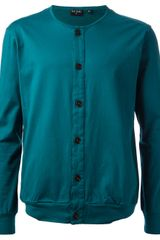 Paul Smith Buttoned Cardigan - Lyst