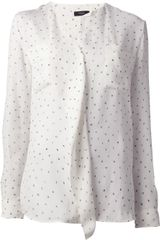 Paul Smith Ruffle Front Shirt - Lyst