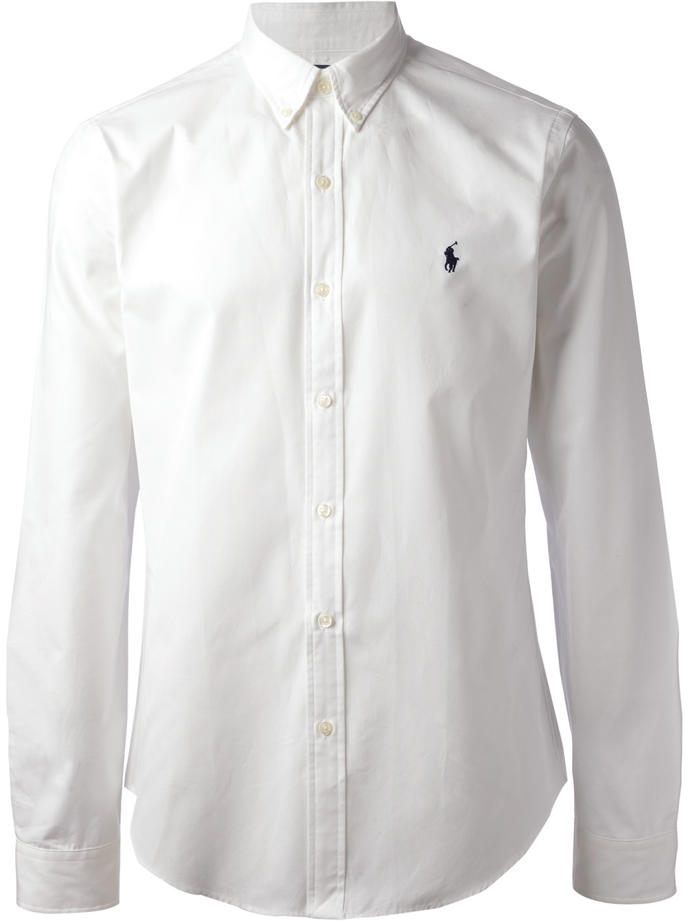 Lyst - Polo Ralph Lauren Long Sleeve Shirt in White for Men 3d027c2b616
