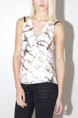 Priory Of Ten Nosu Top Rust Print - Lyst