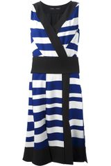 Proenza Schouler Striped Sleeveless Dress - Lyst