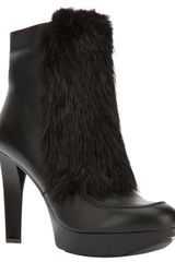 Robert Clergerie Testin High Heel Boot - Lyst