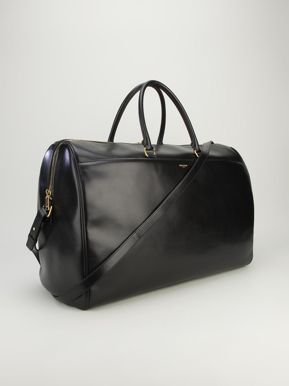 310fdccc2bf1 Lyst - Saint Laurent Duffle Bag in Black for Men
