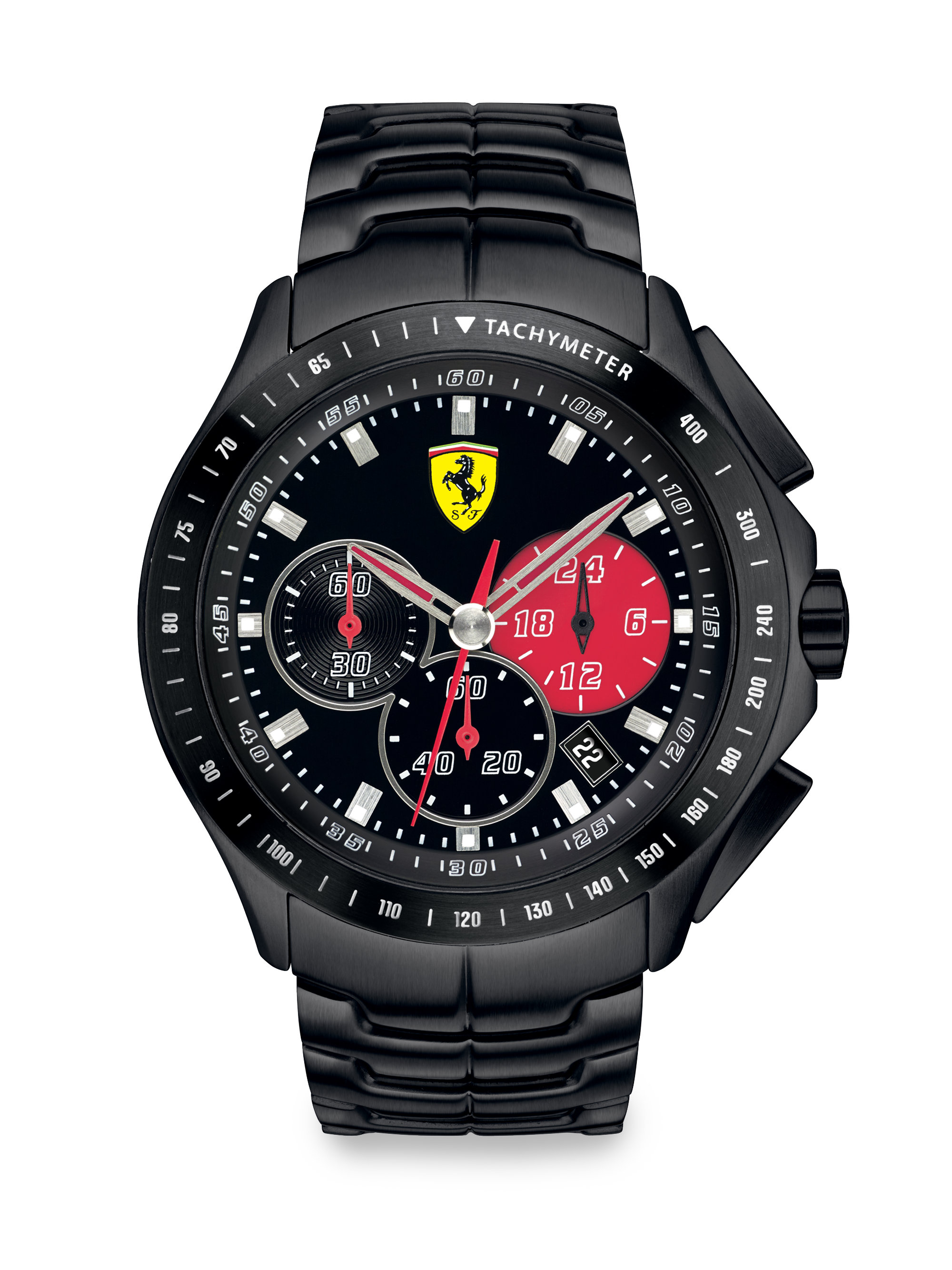 scuderia ferrari race day chronograph watch in red for men black lyst. Cars Review. Best American Auto & Cars Review