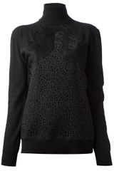 Stella McCartney Swarl Lace Top - Lyst