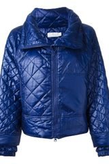 Stella Mccartney For Adidas Quilted Sports Jacket - Lyst