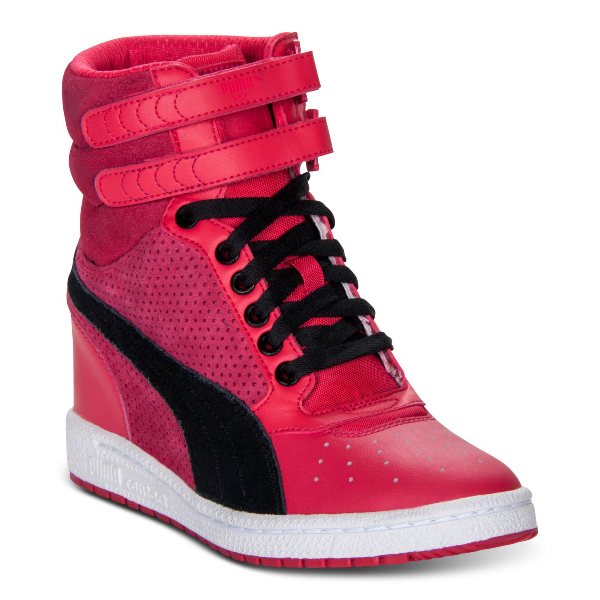 Puma Sky Wedge Casual Sneakers in Pink (VIRTUAL PINK)  70cbe5617