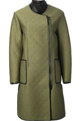 3.1 Phillip Lim Quilt Effect Coat - Lyst