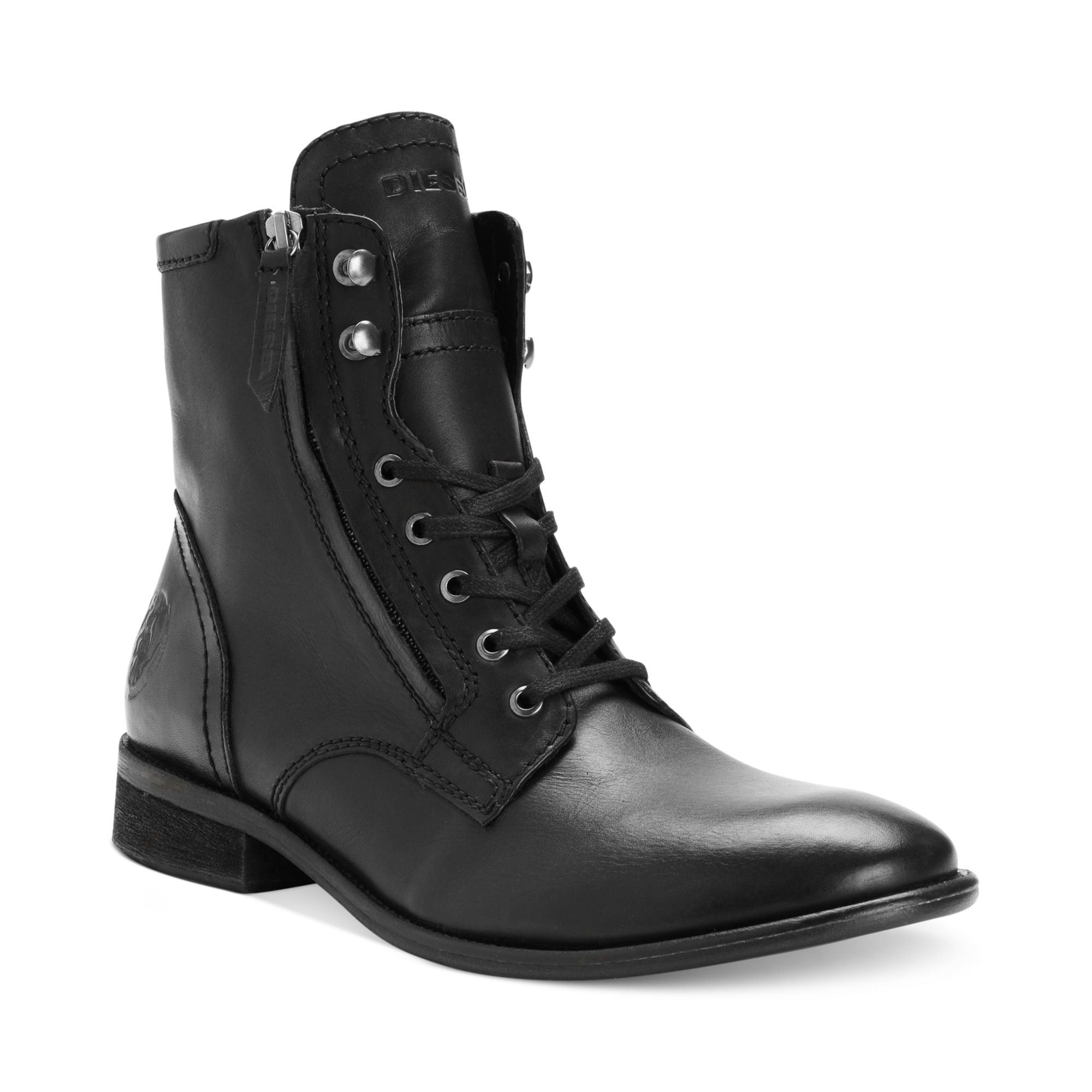 Diesel Pataboot 'the Pit' Boots in Black for Men | Lyst
