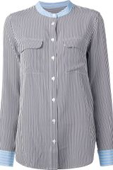 Equipment Striped Shirt - Lyst