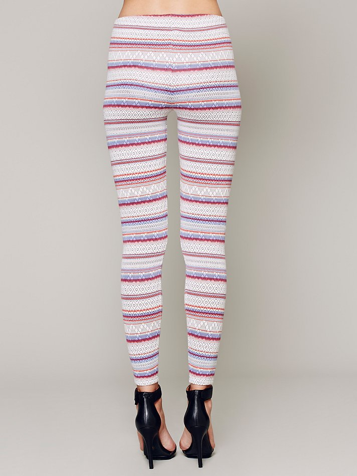 Free people Winter Story Sweater Legging in Pink | Lyst