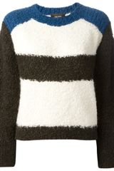 Isabel Marant Striped Print Sweater - Lyst