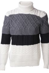 Kris Van Assche Roll Neck Sweater - Lyst