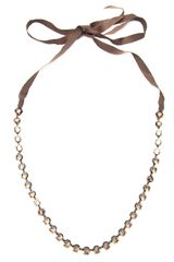 Lanvin Long Beaded Necklace - Lyst