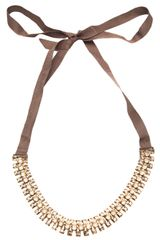 Lanvin Multiple Layer Choker Necklace - Lyst