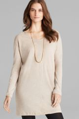 Majestic Long Sleeve Vneck Tunic - Lyst