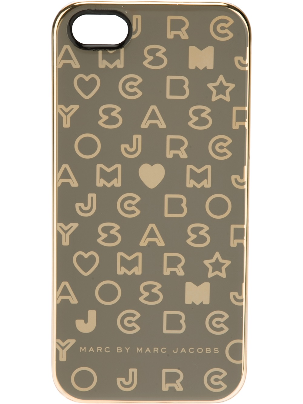 marc by marc jacobs stardust iphone 5 case in gray lyst. Black Bedroom Furniture Sets. Home Design Ideas