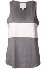 Mason by Michelle Mason Scoop Neck Tank - Lyst