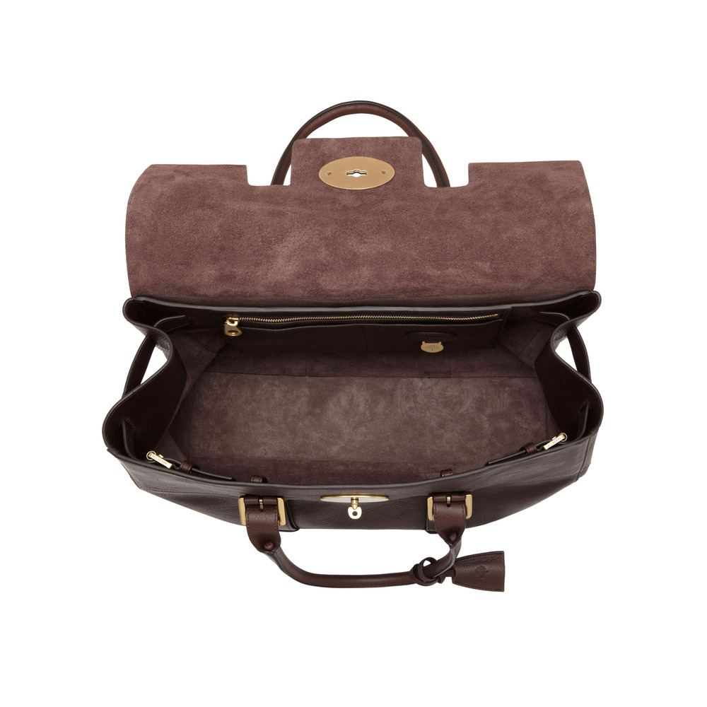 3dc23527da11 ... discount discount code for lyst mulberry oversized bayswater in brown  94a85 6e253 cheap mulberry small ee3ea