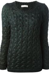 Roberto Collina Cable Knit Jumper - Lyst