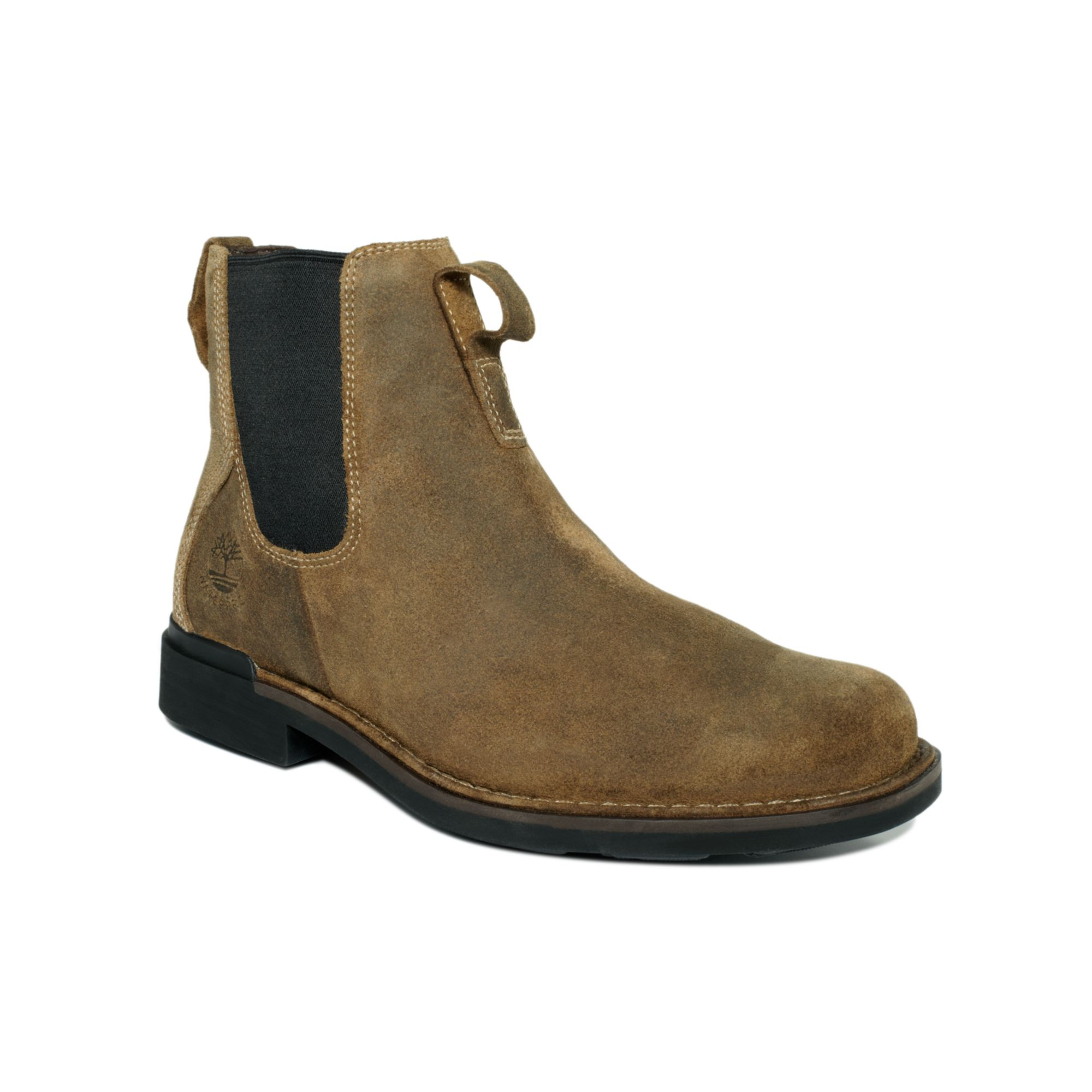 timberland mt washington waterproof chelsea boots in brown