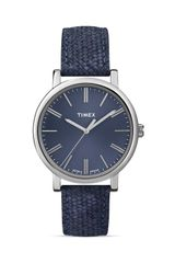 Timex® Braided Classic Blue Watch 38mm - Lyst