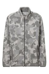 Uniqlo Printed Fleece Full Zip Jacket - Lyst