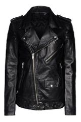 Blk Dnm Leather Outerwear - Lyst