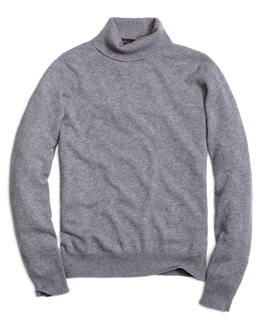 Brooks brothers Cashmere Turtleneck Sweater in Gray for Men | Lyst