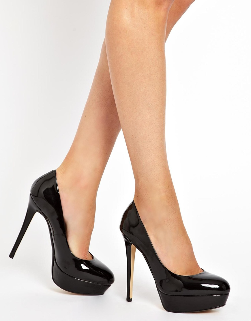 e53b03f36bc Lyst - ALDO Monier Platform Court Shoes in Black