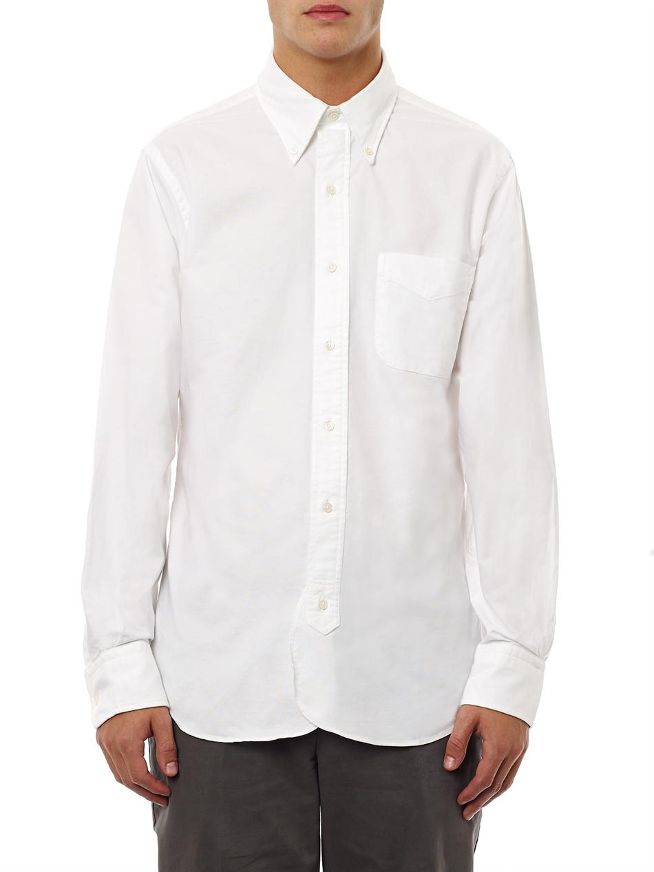Lyst Black Fleece By Brooks Brothers Button Down Cotton