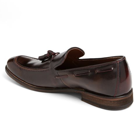 Hush Puppies Grimes Tassel Loafer in Brown for Men (Dark Brown/ Red