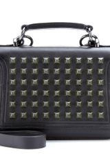McQ by Alexander McQueen Studded Leather Tote - Lyst