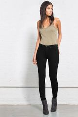 Rag & Bone Legging Blackout - Lyst
