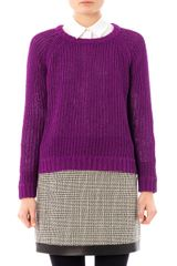 Rag & Bone Kendall Cotton Sweater - Lyst