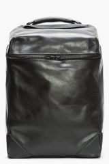 Alexander Wang Black Leather Wallie Backpack - Lyst