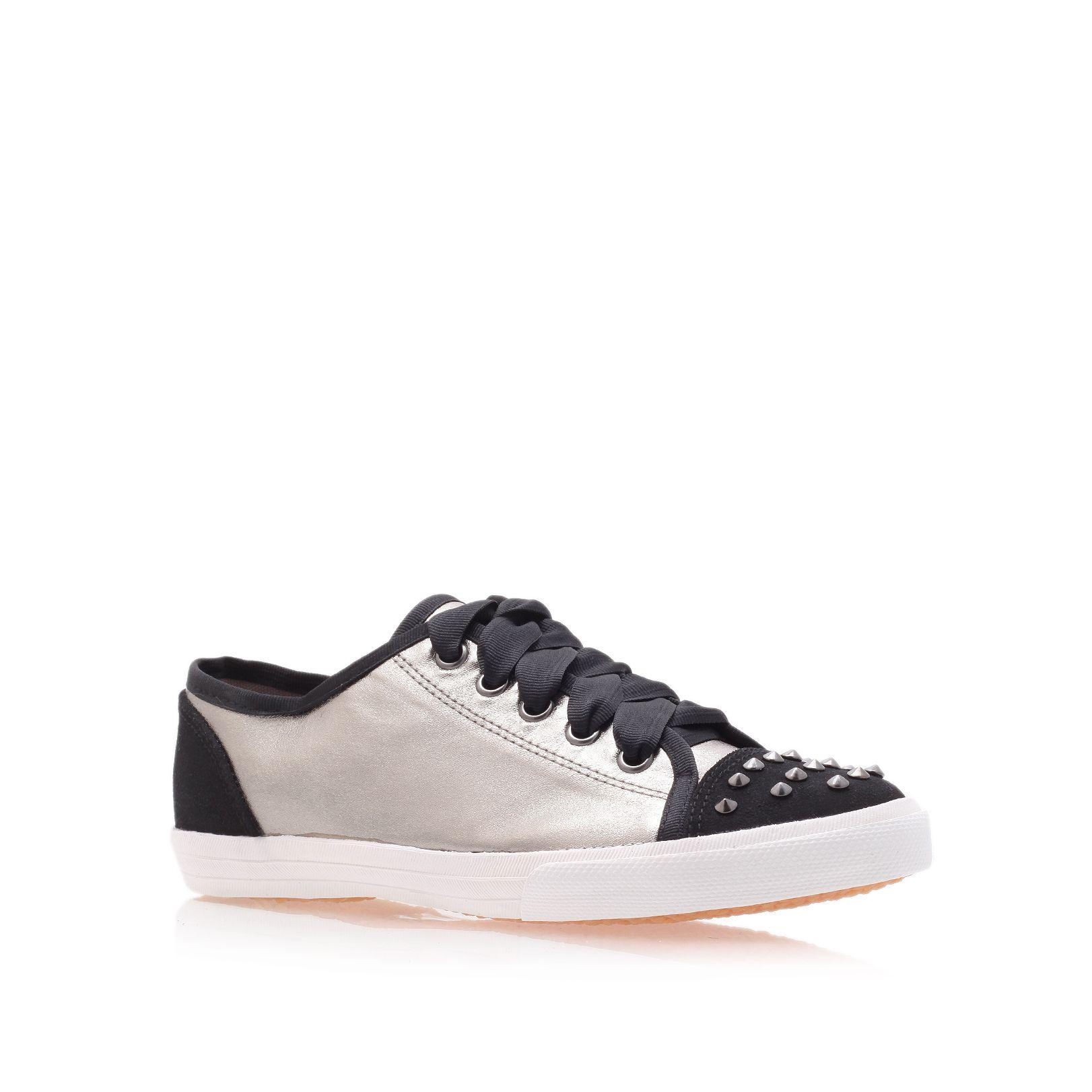 Carvela Kurt Geiger Jenson Trainer Shoes In Gray For Men   Lyst