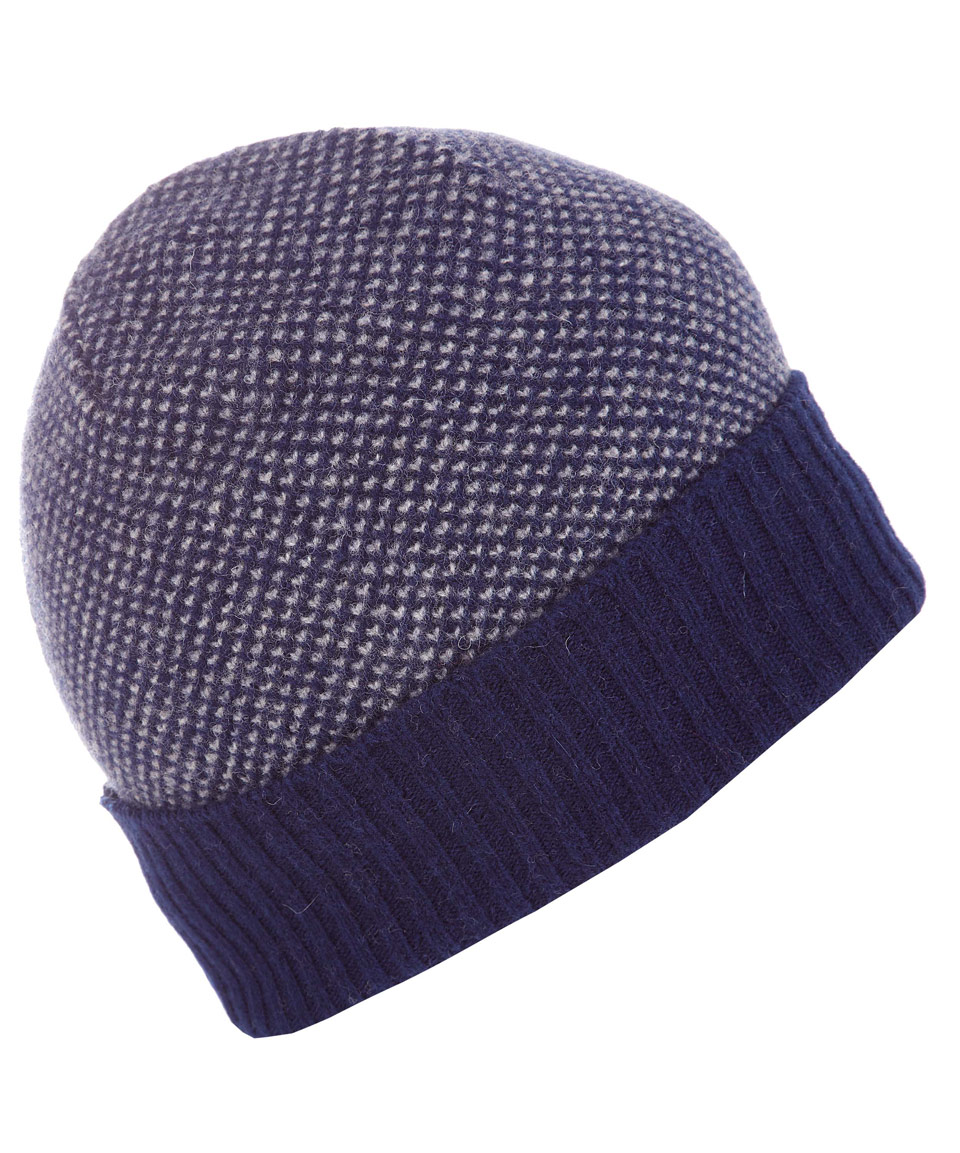 Howlin  By Morrison Navy Castro Wool Beanie Hat in Blue for Men - Lyst 6ad75e79270