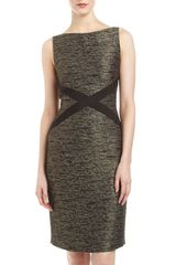 Lafayette 148 New York Milla Noble Reed Tweed Dress - Lyst