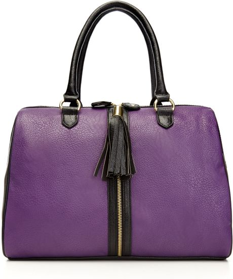 Steve Madden Handbag Bclare Satchel in Purple