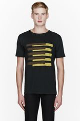 Marc By Marc Jacobs Green and Yellow America Flag Print T_shirt - Lyst